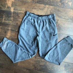 Men's Nike Jogger Sweatpants Grey Size M